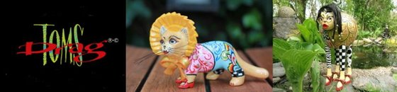 Katzen Skulpturen