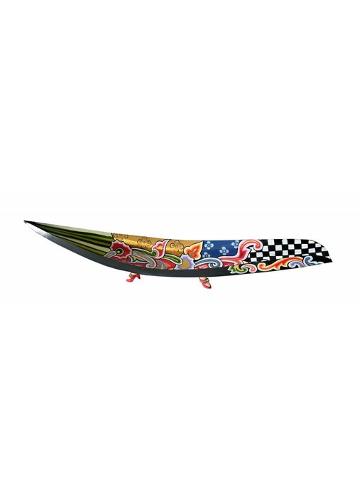 Toms Drag Bowl, elongated - black