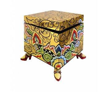 Toms Drag Square box, gold
