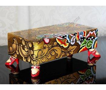 Toms Drag Längliche Kiste, Box, gold