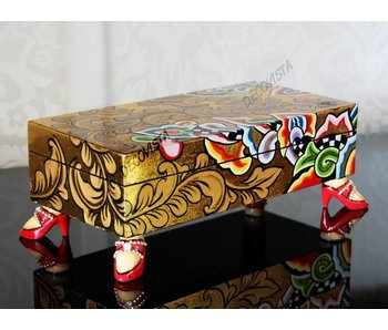 Toms Drag Oblong box, gold