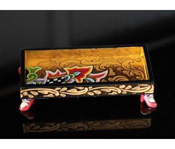 Toms Drag Tray, rectangular Gold - S
