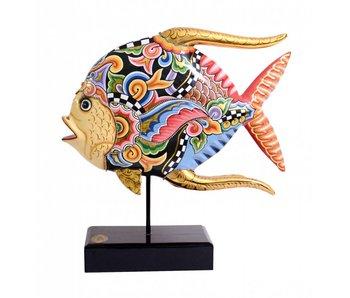 Toms Drag Vis, Koraalvlinder of Butterflyfish - L