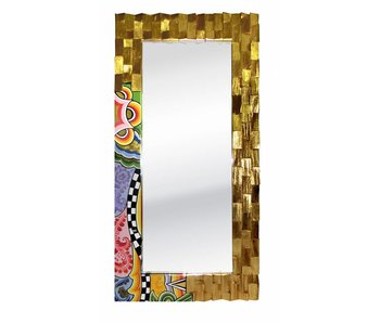 Toms Drag Mirror Golden Wood - L