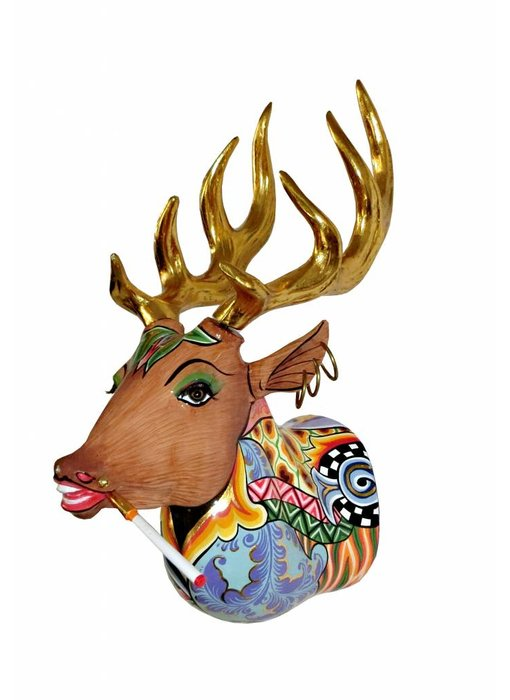 Toms Drag Alfred the deer,  wall decoration