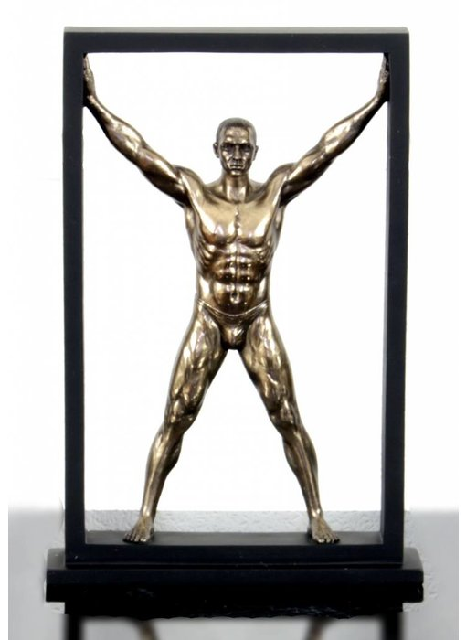 BodyTalk Atleet in spreidstand - frame