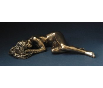 BodyTalk Sleeping female, nude statue