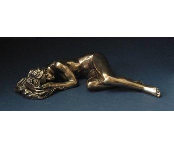 BodyTalk Weiblicher Akt statue - Schlafposition