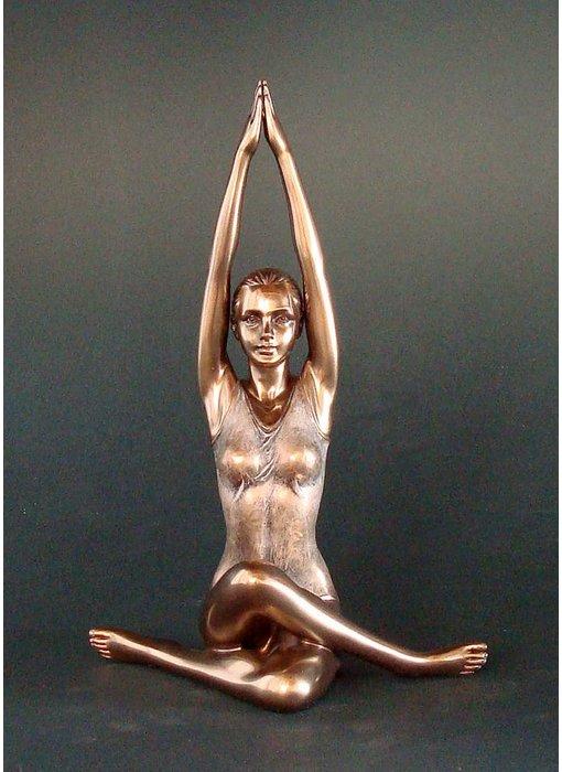 BodyTalk Yoga figurine  sun saluation Surya Namaskar,