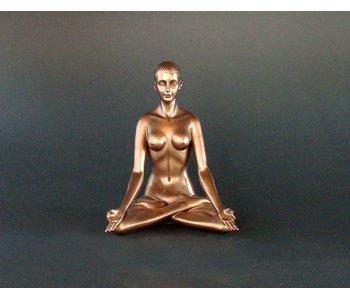 BodyTalk Yoga figurine woman, Padmasana