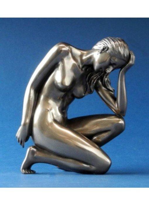 BodyTalk Weiblicher Akt Skulptur, Ruhestellung 2