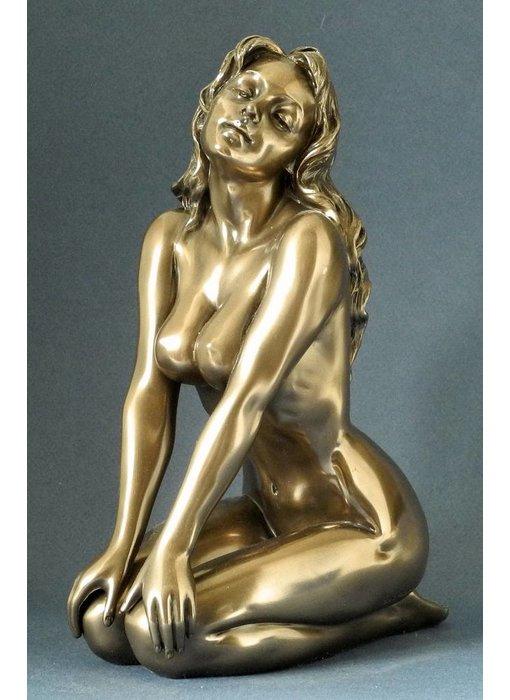 BodyTalk Naked woman sculpture in bronze