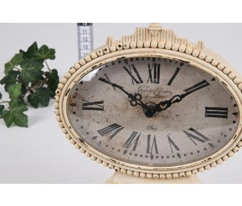 Baroque House of Classics Romantic vintage table clock in baroque style