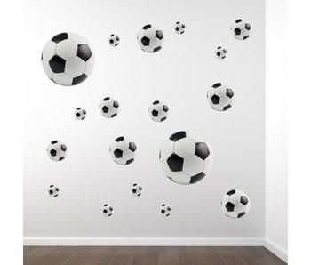 Walltastic Wallsticker Football (set of 18)