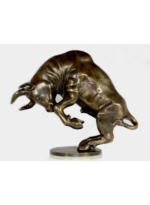 Bucking Bull in bronze