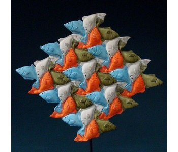 Mouseion Escher Fisch Dreieck
