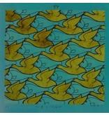 Mouseion Escher - Vogels - Vissen sculptuur driehoek