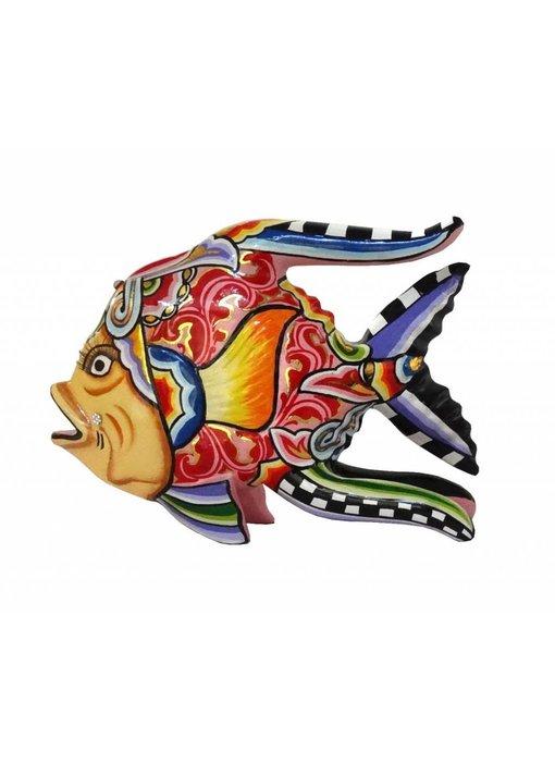Toms Drag Vis Oscar rood - L