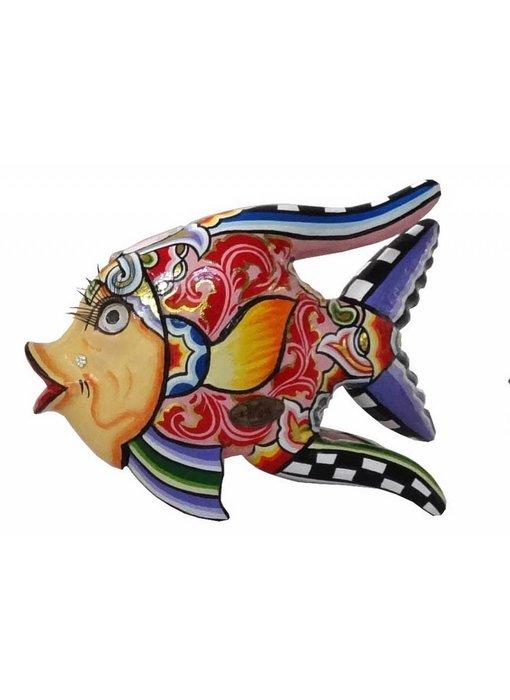 Toms Drag Fisch Oscar in Rot - M