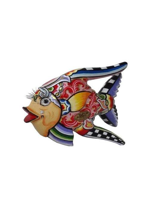 Toms Drag Vis Oscar rood - S