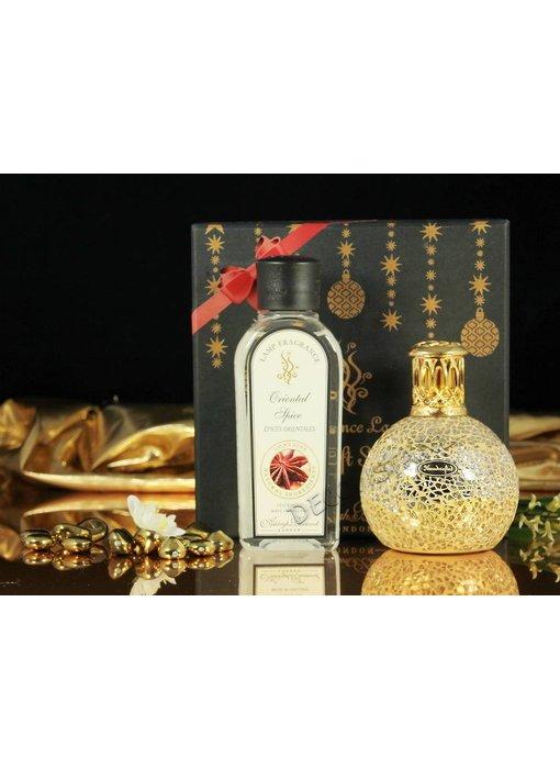 Ashleigh & Burwood Gift-box S: Fragrance Lamp + oil : Little Treasure / Oriental Spice
