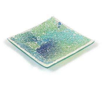 Ashleigh & Burwood Mosaik plate Shimmering Sea - L