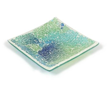 Ashleigh & Burwood Mosaikschale Shimmering Sea - L