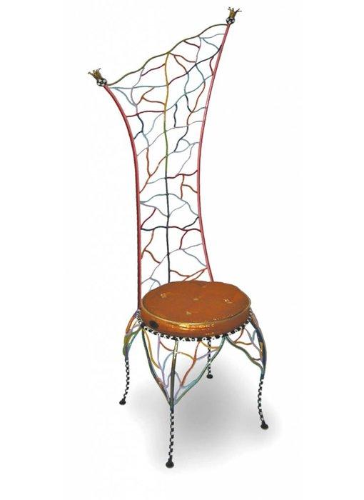 Toms Drag Design stoel - Crown, draadmetalen stoel