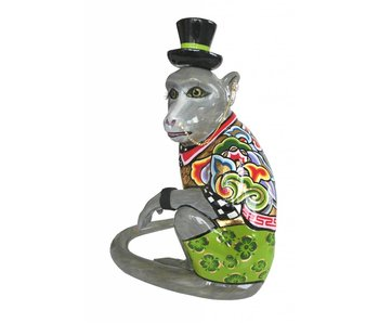 Toms Drag Monkey figurine Nilsson, sitting - L