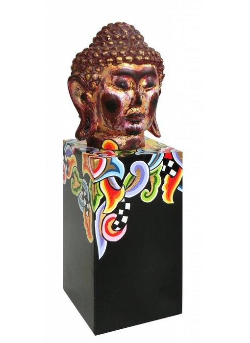 Toms Drag Buddha Kopf auf Sockel - Ltd. Edition - S