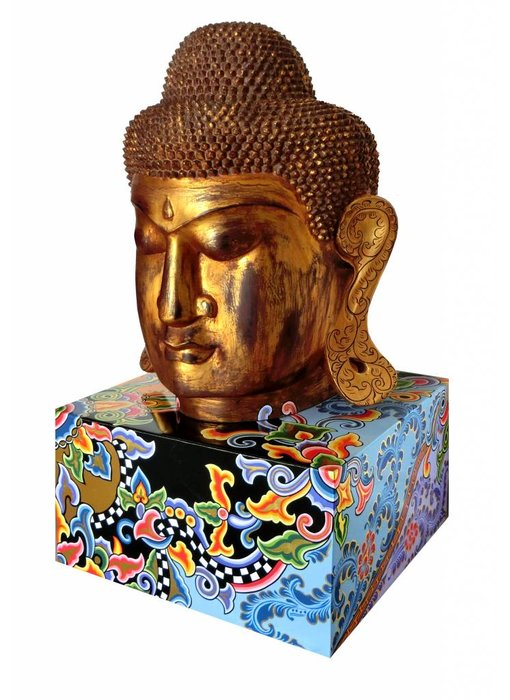 Toms Drag Budha sculpture on base - XL