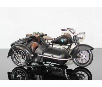 Clayre & Eef Scooter mit Beiwagen altmodisch