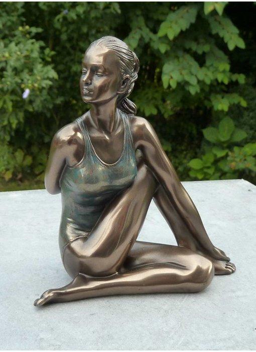 BodyTalk Yoga-figur Ardha Matsyendrasana