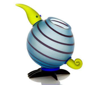 Borowski Kiwi vase light blue