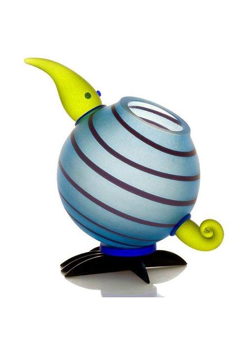Borowski Kiwi vase light blue