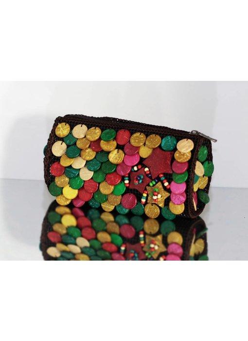 Wooden ladies bag