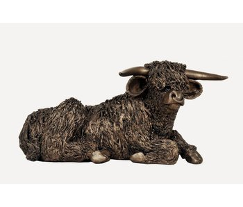 Frith Highland bull sculpture