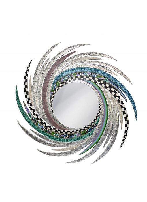 Toms Drag Mirror New Energy, round mirror
