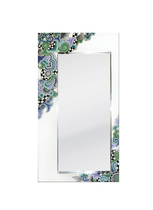 Toms Drag Spiegel Almeria, rechthoekige spiegel