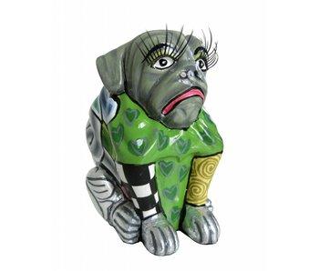 Toms Drag Hond Albert, mopshond - S