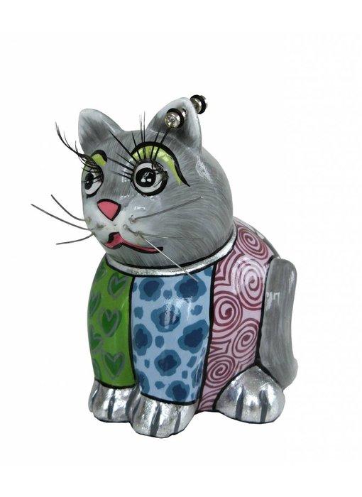 Toms Drag Kattenbeeldje Luna - S
