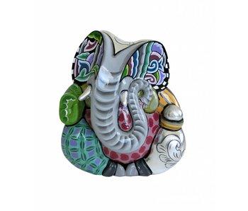 Toms Drag Olifant Ganesha - L