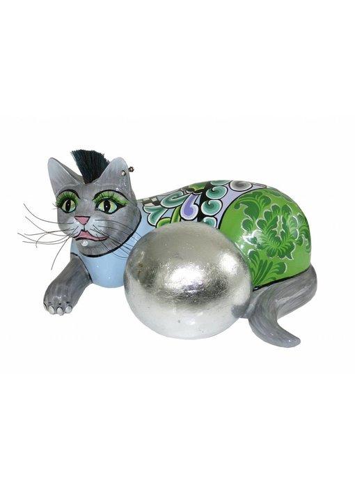 Toms Drag Katze Silver Ball - L
