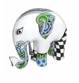Toms Drag Olifant beeld White Tusker, witte olifant