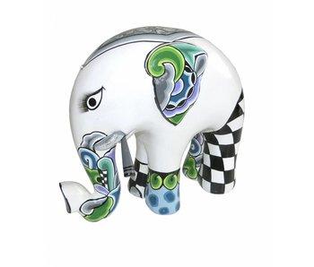 Toms Drag Elephant White Tusker - L