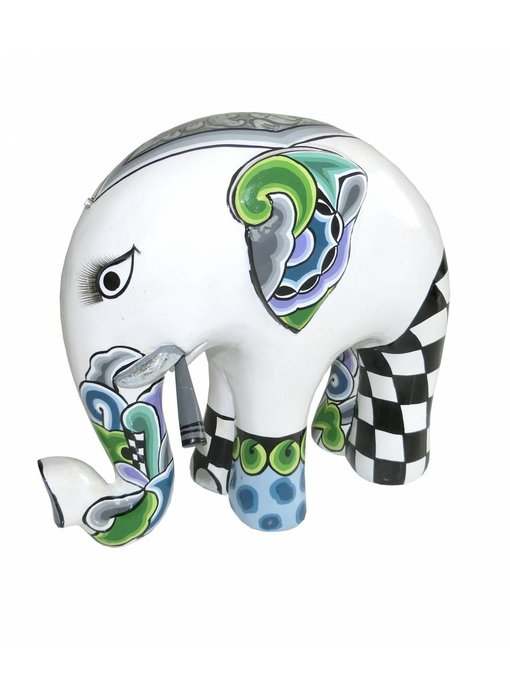 Toms Drag Elefant White Tusker - L