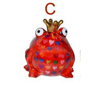 Pomme-Pidou Money-bank King Frog XL Big Freddy