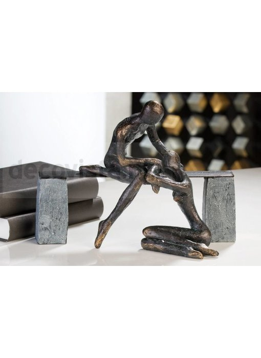 Skulptur Beruhigung