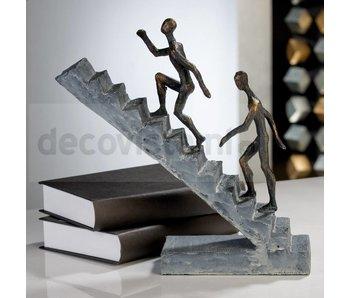 Sculptuur Opklimmen