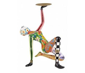 Toms Drag Akrobat mit goldene Schale